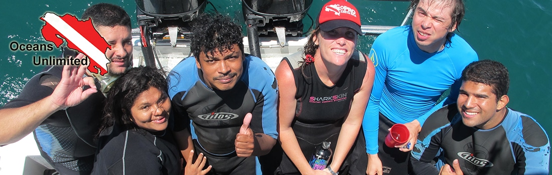 learn to scuba dive in costa rica