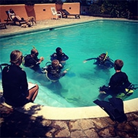 Open water diver program