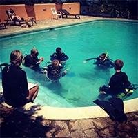 Open water diver program