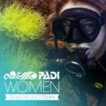 women in scuba diving