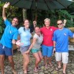happy scuba instructors