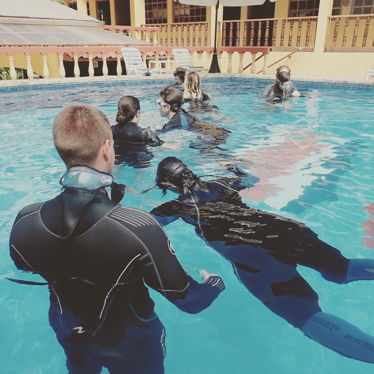 PADI Freediver program